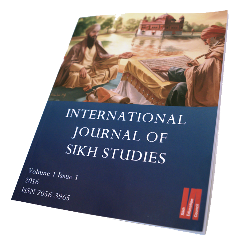 International Journal of Sikh Studies Volume 1 Issue 1