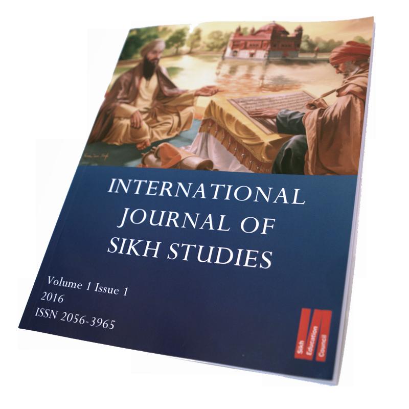 International Journal of Sikh Studies Volume 1 Issue 1